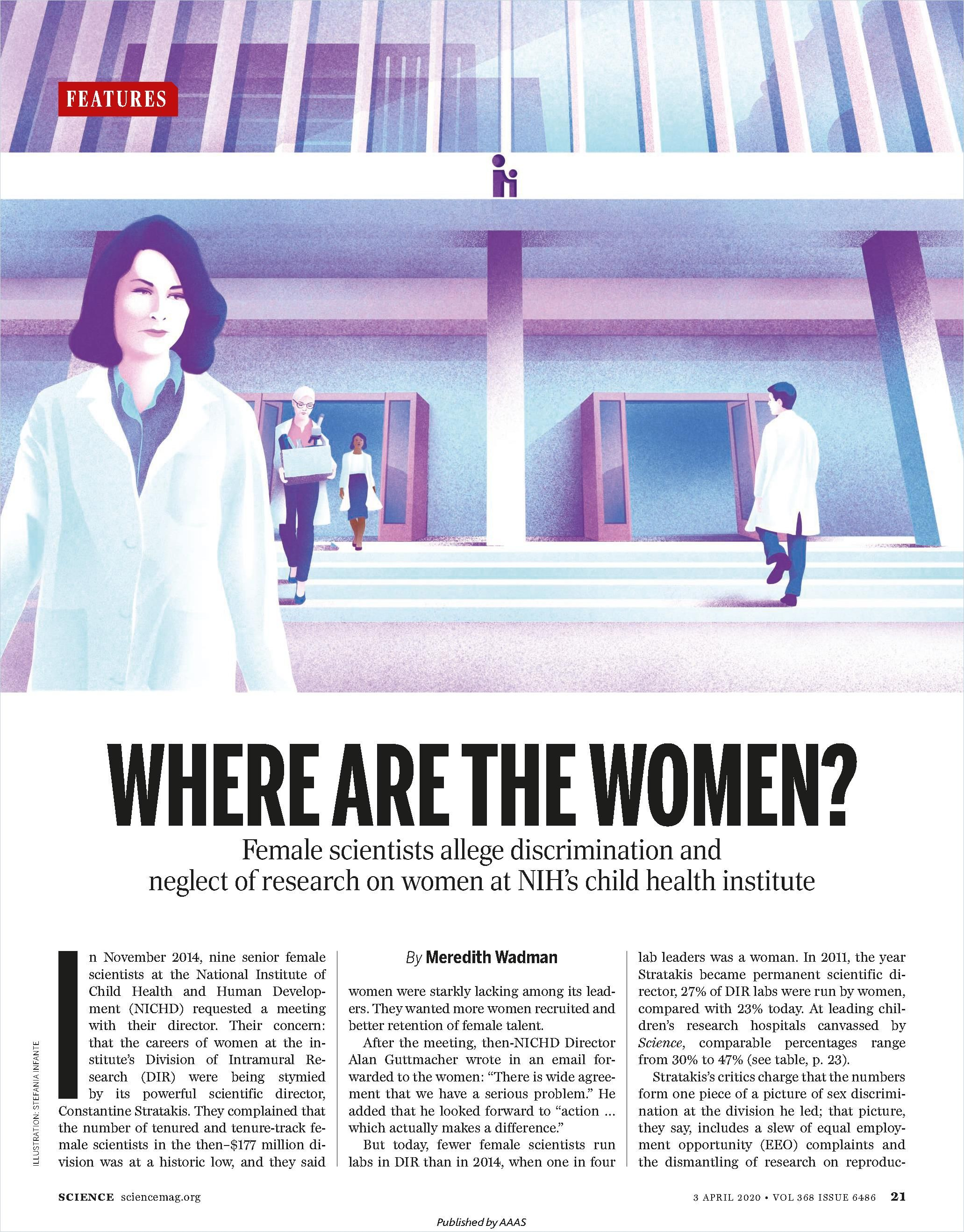 Image of: Where Are the Women?