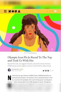 Olympic Icon Flo Jo Raced to the Top and Took Us with Her summary