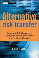 Alternative Risk Transfer book summary
