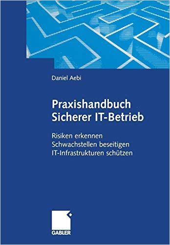 Image of: Praxishandbuch Sicherer IT-Betrieb