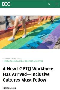 A New LGBTQ Workforce Has Arrived summary