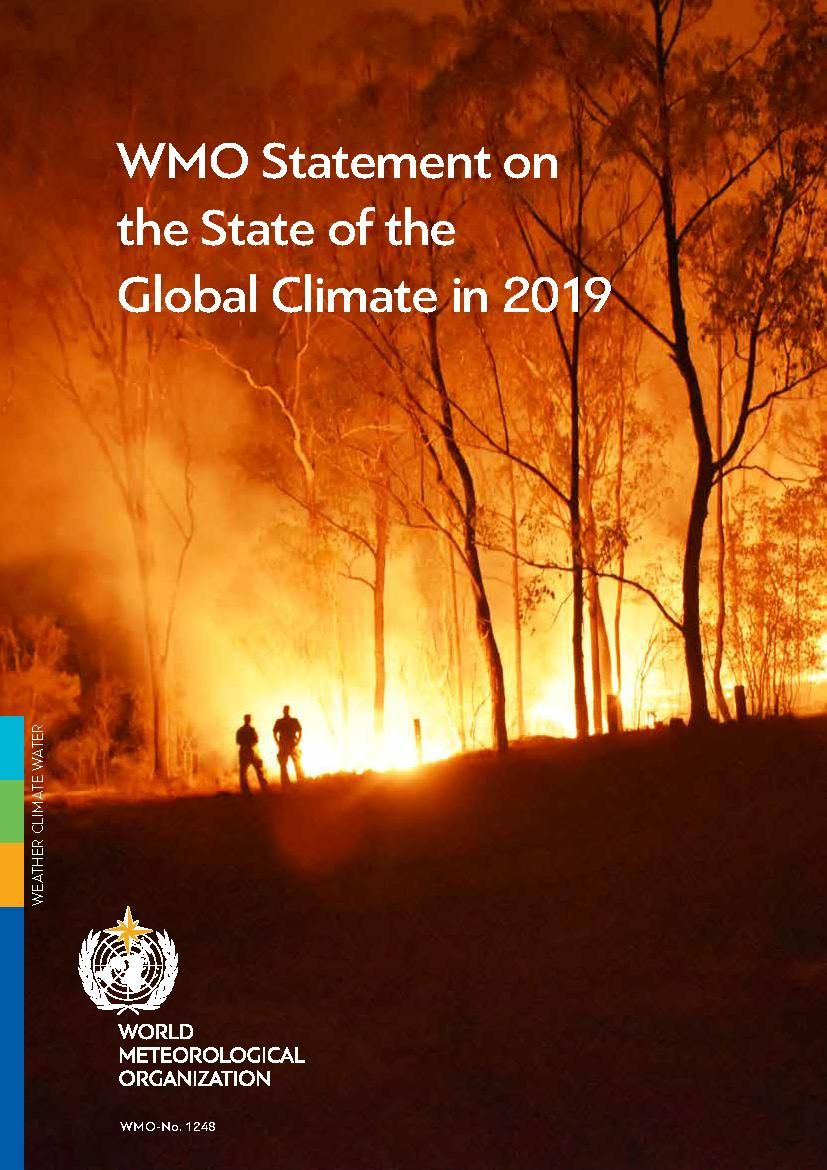 Image of: WMO Statement on the State of the Global Climate in 2019