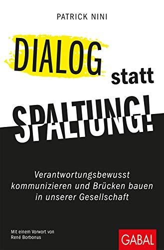 Image of: Dialog statt Spaltung!