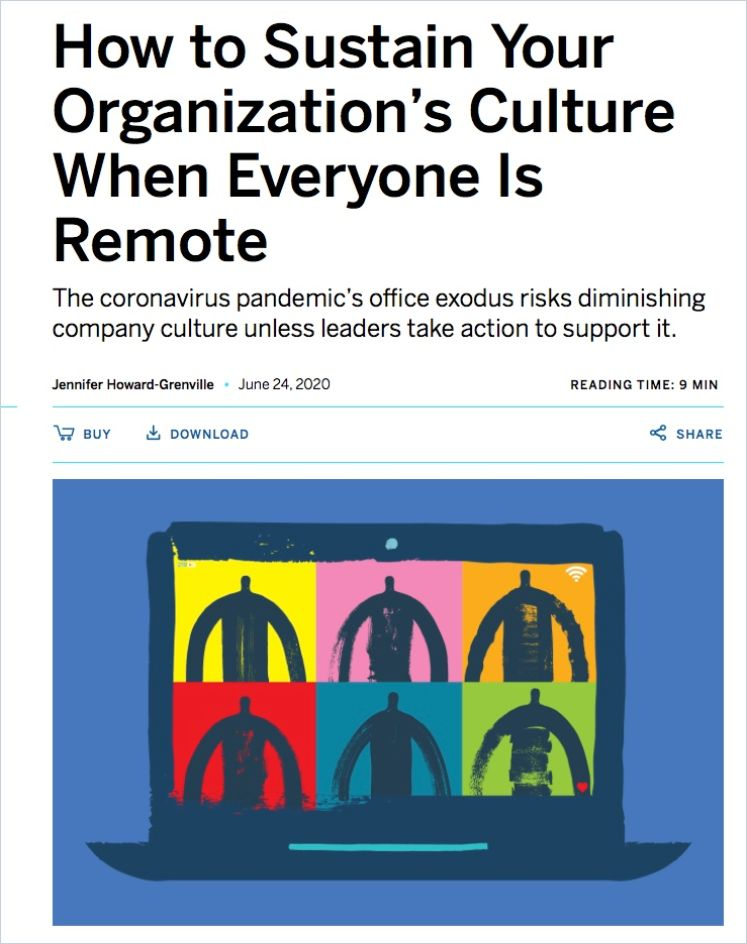 Image of: How to Sustain Your Organization's Culture When Everyone Is Remote
