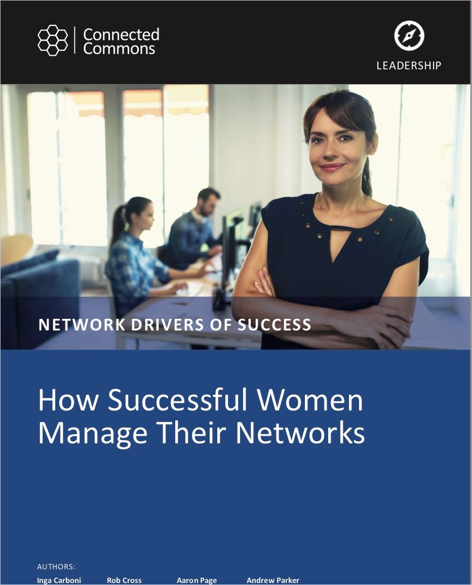Image of: How Successful Women Manage their Networks