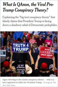 What Is QAnon, the Viral Pro-Trump Conspiracy Theory? summary