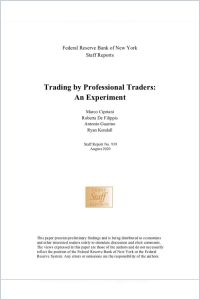 Trading by Professional Traders summary