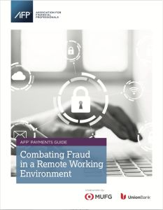 Combating Fraud in a Remote Working Environment