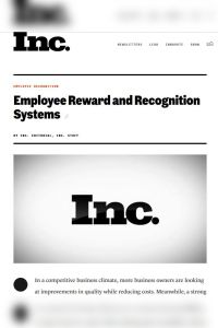 Employee Reward and Recognition Systems summary
