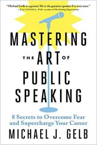 Mastering the Art of Public Speaking book summary