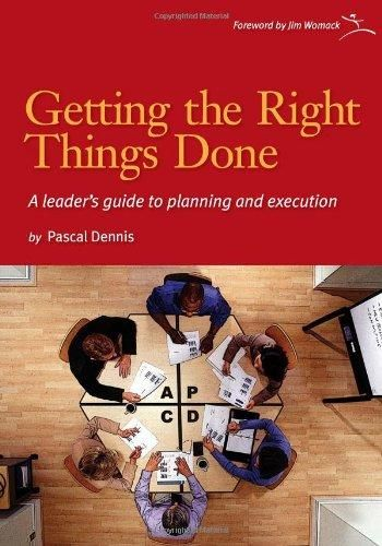Image of: Getting the Right Things Done