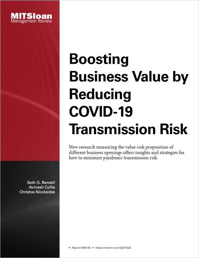 Image of: Boosting Business Value by Reducing COVID-19 Transmission Risk