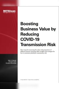 Boosting Business Value by Reducing COVID-19 Transmission Risk summary