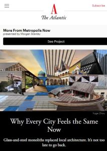 Why Every City Feels the Same Now