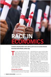 Race in Economics summary