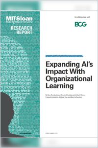 Expanding AI's Impact with Organizational Learning summary