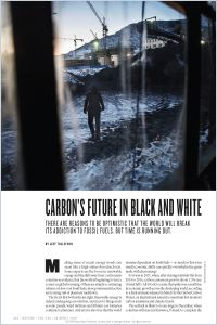 Carbon's Future in Black and White summary