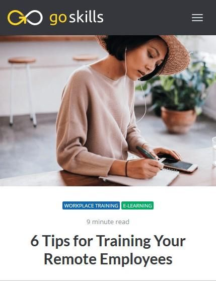 Image of: 6 Tips for Training Your Remote Employees