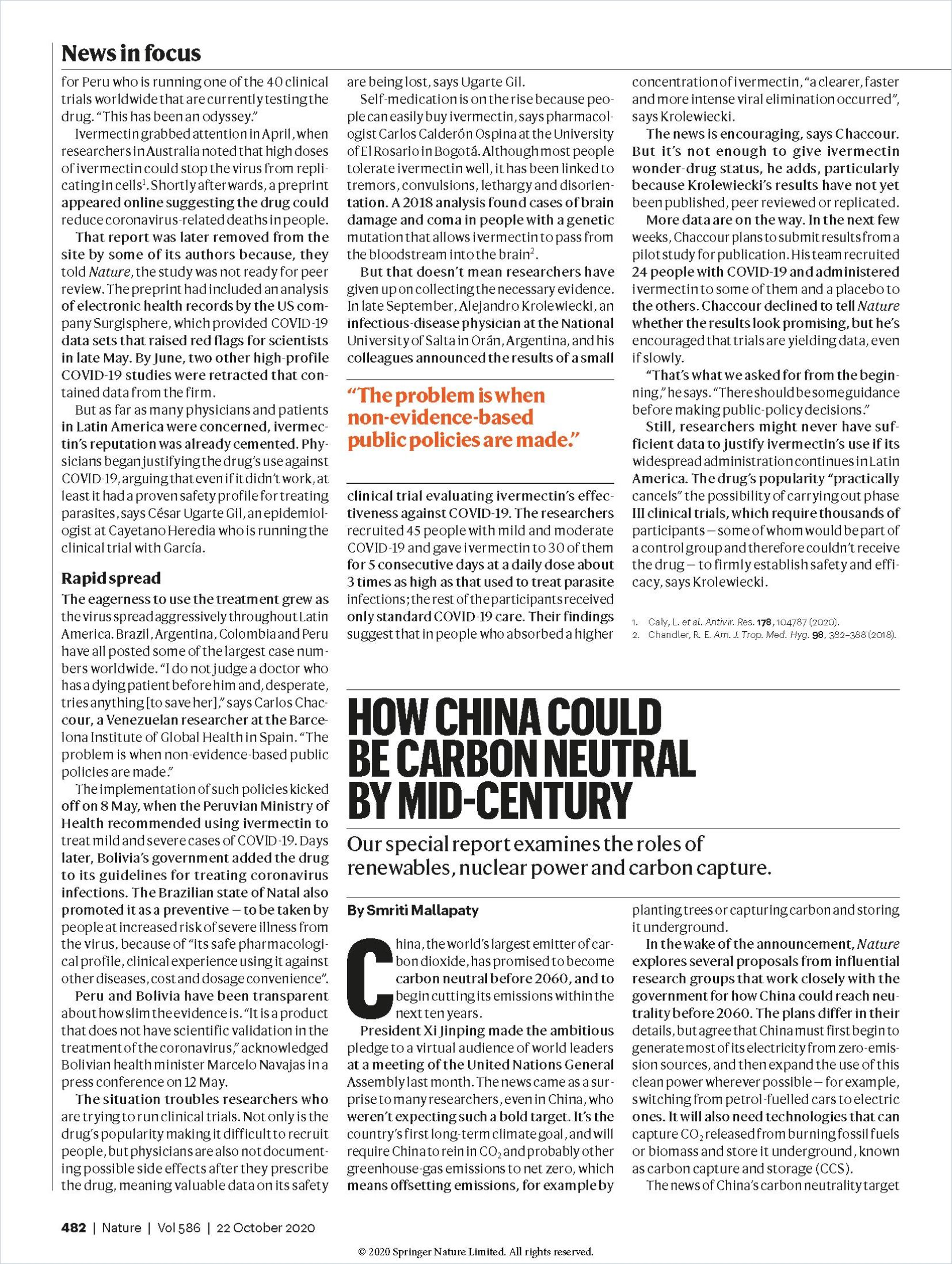 Image of: How China Could Be Carbon Neutral by Mid-Century