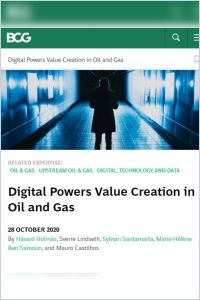 Digital Powers Value Creation in Oil and Gas summary