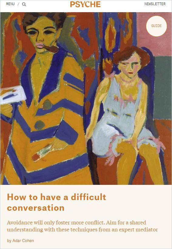 Image of: How to Have a Difficult Conversation