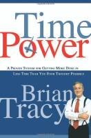 Time Power book summary