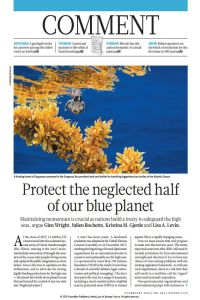 Protect the Neglected Half of Our Blue Planet summary