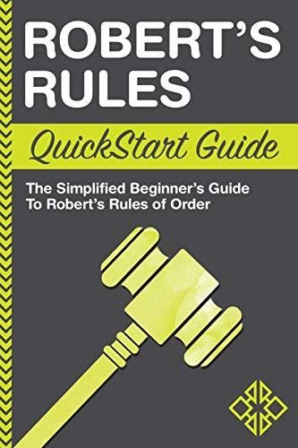 Image of: Robert's Rules