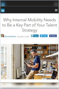 Why Internal Mobility Needs to Be Part of Your Talent Strategy summary