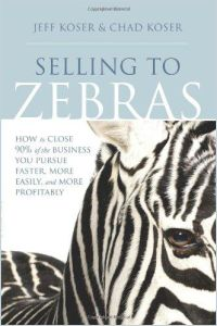 Selling to Zebras book summary