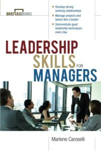 Leadership Skills for Managers book summary