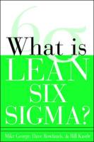 What Is Lean Six Sigma? book summary