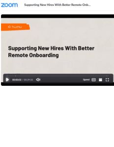 Supporting New Hires with Better Remote Onboarding