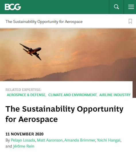 Image of: The Sustainability Opportunity for Aerospace