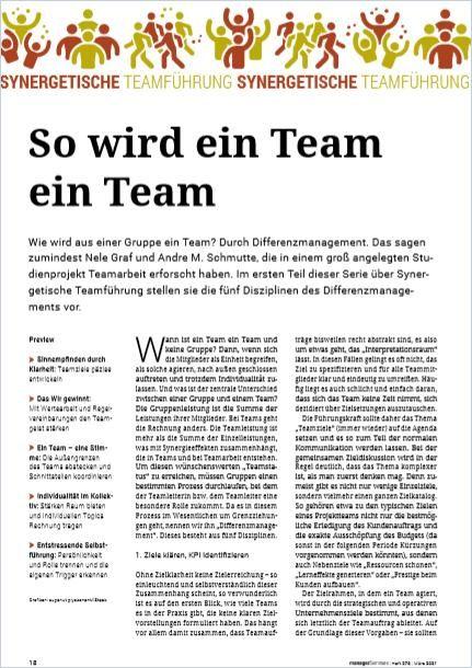Image of: So wird aus einem Team ein Team