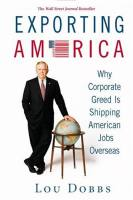 Exporting America book summary
