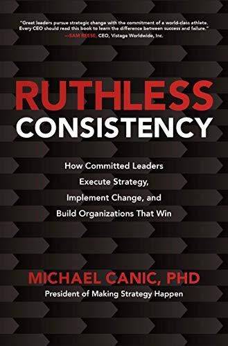 Image of: Ruthless Consistency