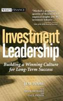 Investment Leadership book summary