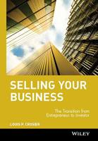Selling Your Business book summary
