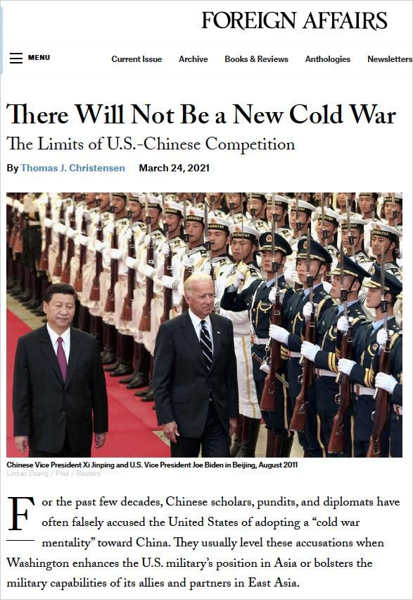Image of: There Will Not Be a New Cold War