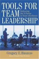 Tools for Team Leadership book summary