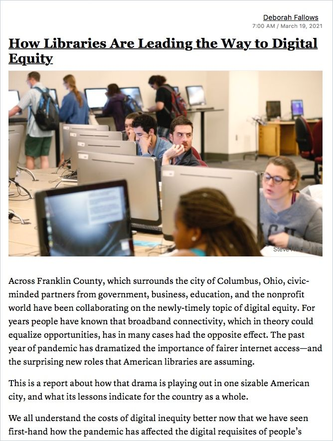 Image of: How Libraries Are Leading the Way to Digital Equity