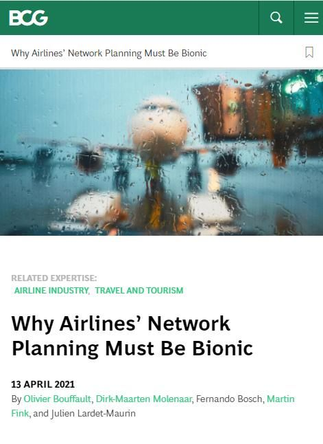 Image of: Why Airlines' Network Planning Must Be Bionic