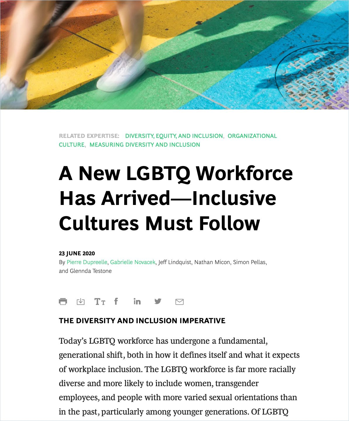 Image of: A New LGBTQ Workforce Has Arrived – Inclusive Cultures Must Follow