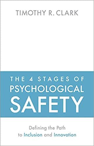 Image of: The 4 Stages of Psychological Safety