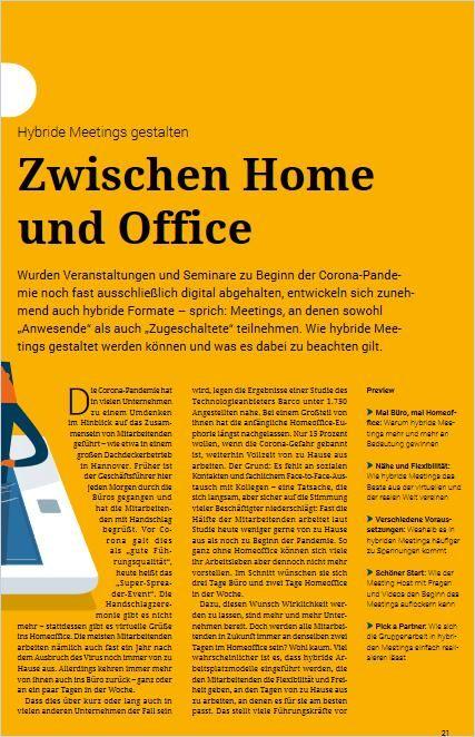 Image of: Zwischen Home und Office