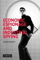 Economic Espionage and Industrial Spying book summary