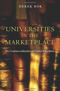 Universities in the Marketplace book summary