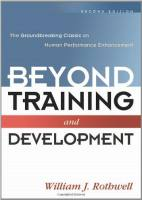 Beyond Training and Development book summary