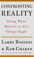 Confronting Reality book summary